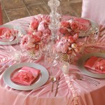 Collection de tables de mariages