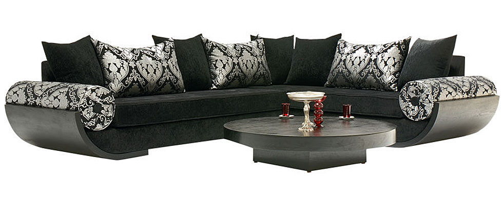 belles photos de salons marocains 2014 2 d co. Black Bedroom Furniture Sets. Home Design Ideas
