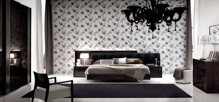 Chambre coucher design 2014 9 d co - Chambre a coucher noir et gris ...