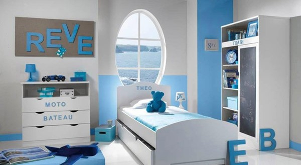 chambre d 39 enfants gar ons 2014 d co. Black Bedroom Furniture Sets. Home Design Ideas