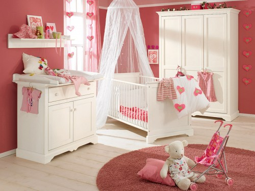 Chambre de b b fille 2014 1 d co for Photo de chambre de bebe fille