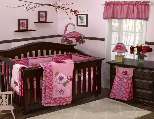 Chambre de b b fille 2014 6 d co for Chambre bebe fille blanche