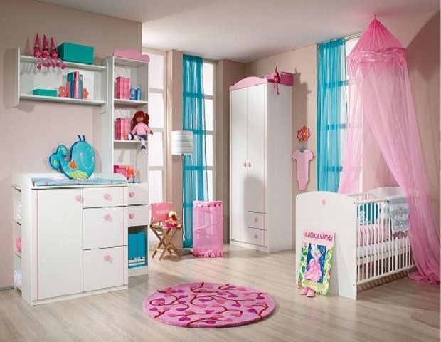 Chambre de b b fille 2014 8 d co for Couleur chambre bebe fille