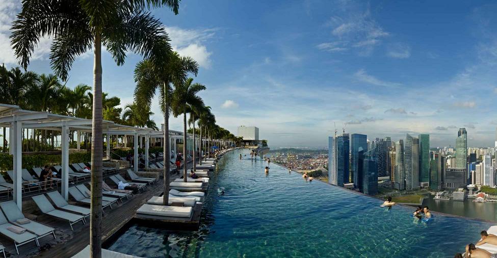 les meilleurs piscines du monde singapour d co. Black Bedroom Furniture Sets. Home Design Ideas