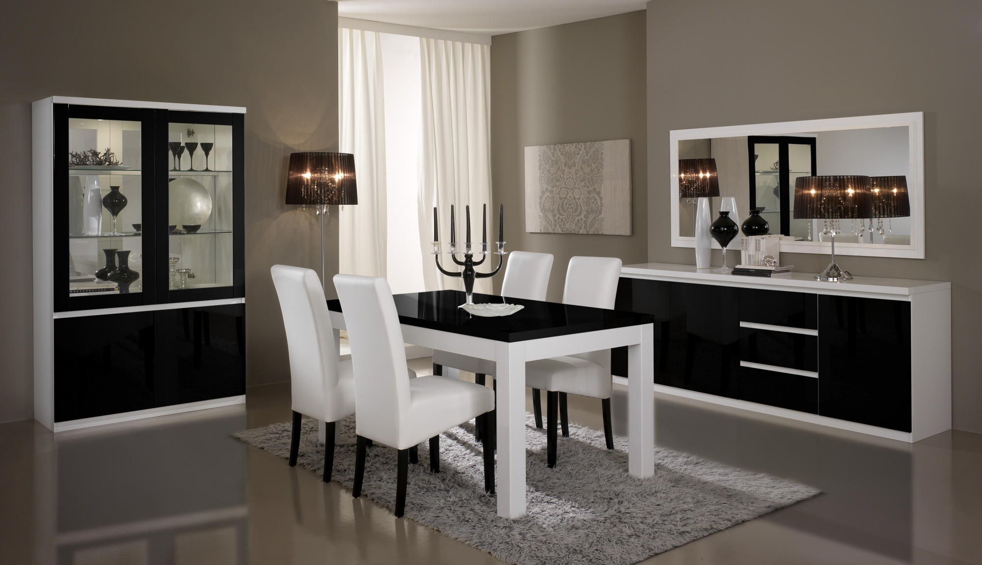 salles manger design d co. Black Bedroom Furniture Sets. Home Design Ideas