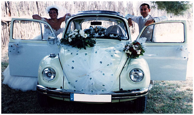 Voiture de mariage d coration 2014 2 d co for Coccinelle decoration exterieure