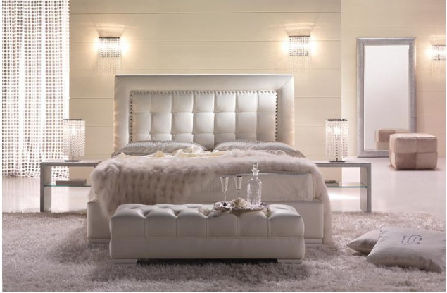chambre coucher de luxe 3 d co. Black Bedroom Furniture Sets. Home Design Ideas
