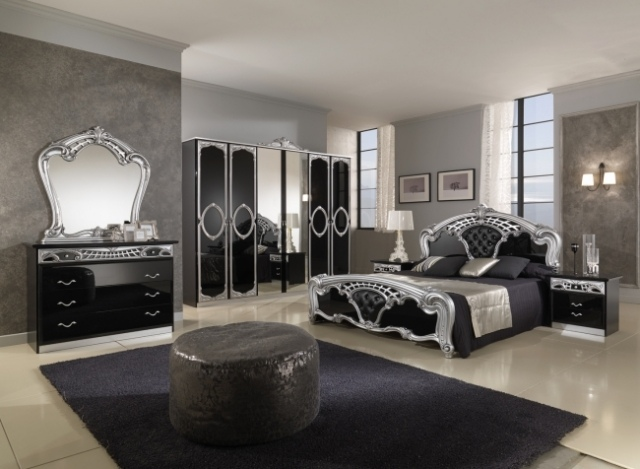 chambre coucher de luxe 8 d co. Black Bedroom Furniture Sets. Home Design Ideas