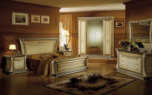 Chambre à coucher de luxe | Déco
