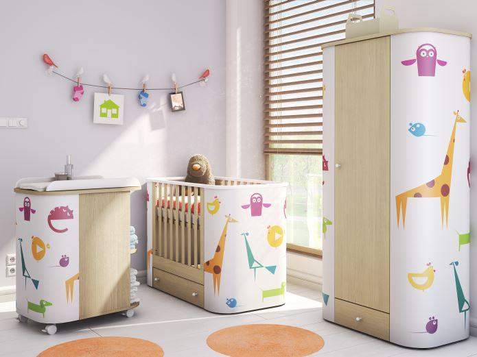 Bureau Chambre Ado Fille : Chambre à coucher bébé 2015 idée déco pour bébé. chambre en …