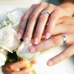 Porte alliance mariage original