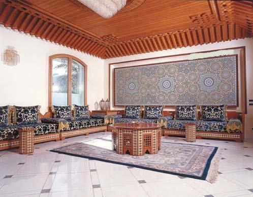 Décoration de Salons Marocains 2015 - 8