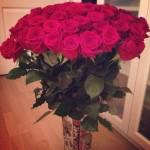 Fleurs Rouges Décoratives - 1