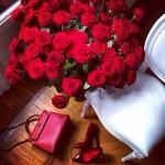 Fleurs Rouges Décoratives - 6