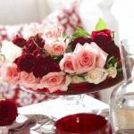 Fleurs Rouges Décoratives - 8