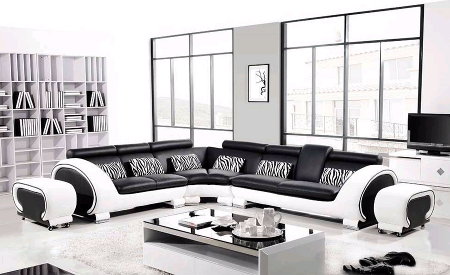 salons modernes 2015 de luxe 3 d co. Black Bedroom Furniture Sets. Home Design Ideas