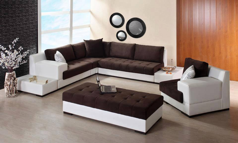 salons modernes 2015 simples d co. Black Bedroom Furniture Sets. Home Design Ideas