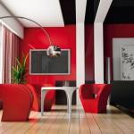 Salons Modernes 2015 Rouge - 4