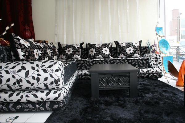 Beautiful Salon Marocain 2015 Richbond Noir Ideas - Awesome Interior ...