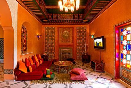Salons Marocains 2015 Colorés 7 Déco