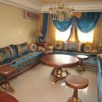 Beautiful Salon Marocain Jaune Et Bleu Photos - Awesome Interior ...