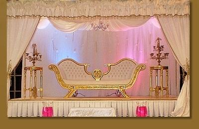 très beaux styles de trones de mariage 2014 trone majestueux en doré ...