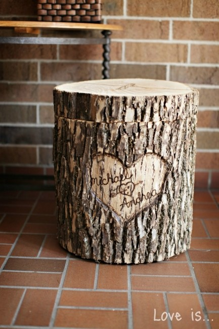 urne mariage en bois 9 d co. Black Bedroom Furniture Sets. Home Design Ideas