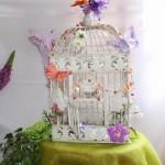 Urne Mariage Cage à oiseaux - 1