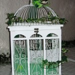 Urne Mariage Cage à oiseaux - 2