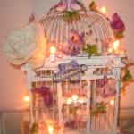 Urne Mariage Cage à oiseaux - 5