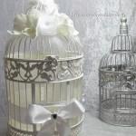 Urne Mariage Cage à oiseaux - 6