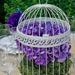 Urne Mariage Cage à oiseaux - 7