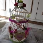 Urne Mariage Cage à oiseaux - 8