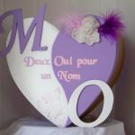 Urne Mariage Coeur - 1