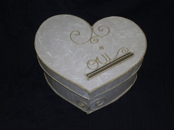 urne mariage coeur 3 d co. Black Bedroom Furniture Sets. Home Design Ideas