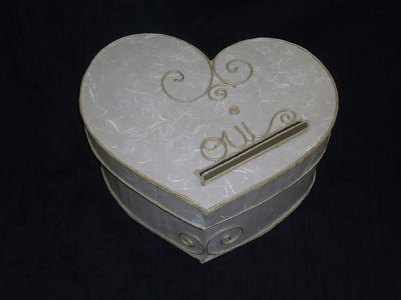 Urne mariage coeur 3 d co for Decoration urne de mariage