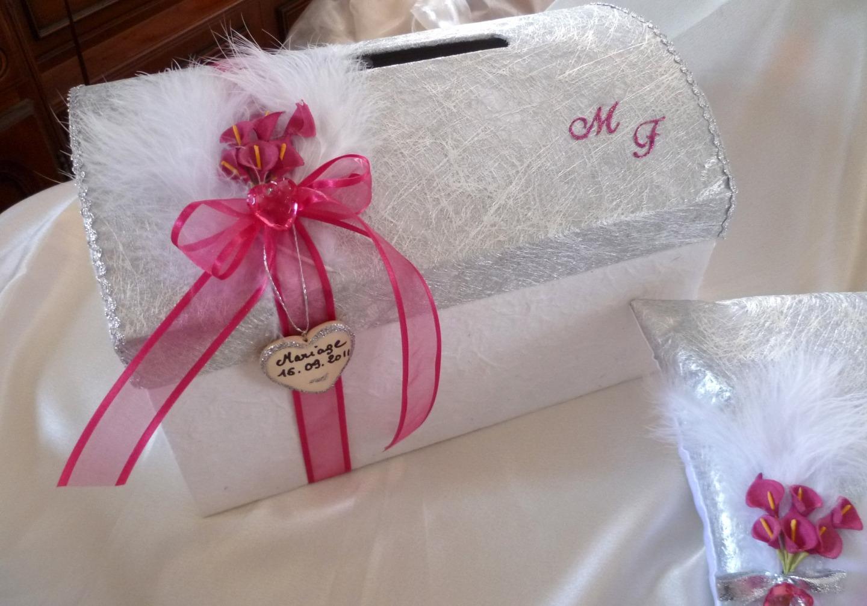 Urne mariage coffre 3 d co for Decoration urne de mariage