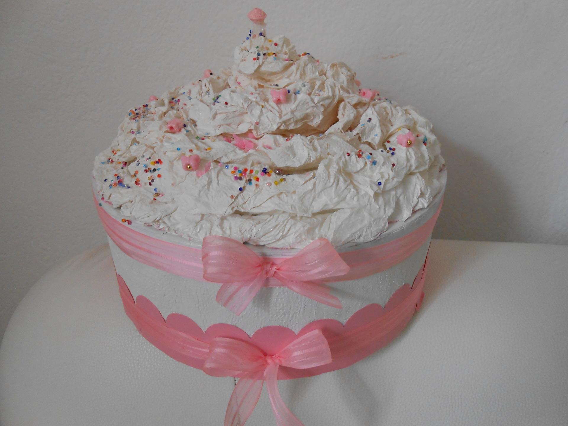 Urne Mariage Gâteau 5 Déco