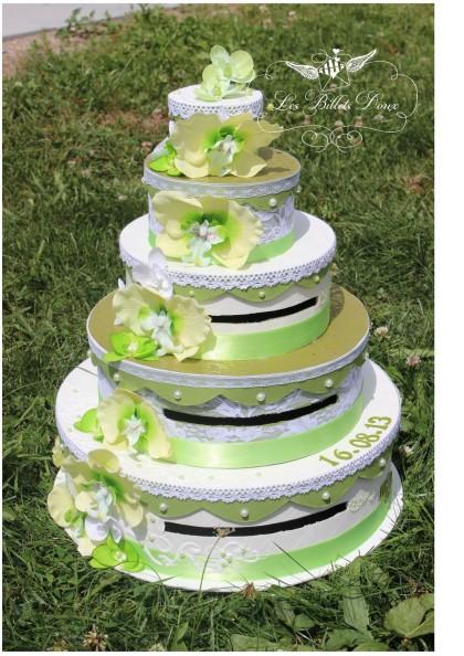 Bureau Chambre Ado Fille : Très belles urnes de mariage 2015 sous forme de gâteaux de mariage 5 …