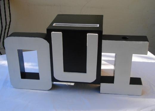 urne mariage original 1 d co. Black Bedroom Furniture Sets. Home Design Ideas