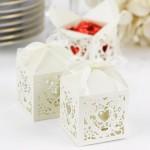 boîtes à dragées de mariage