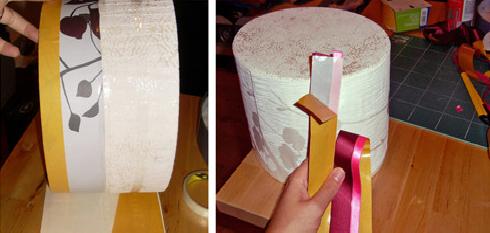 Création Urne Mariage Gâteau - Pas 4