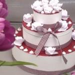 Création Urne Mariage Gâteau