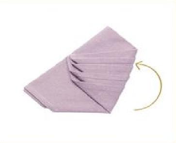Déco de serviettes pour Noël 2015 - 5