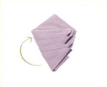 Déco de serviettes pour Noël 2015 - 6