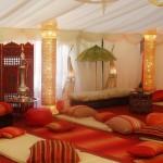 La chaleur de l'orient dans des Salons marocains
