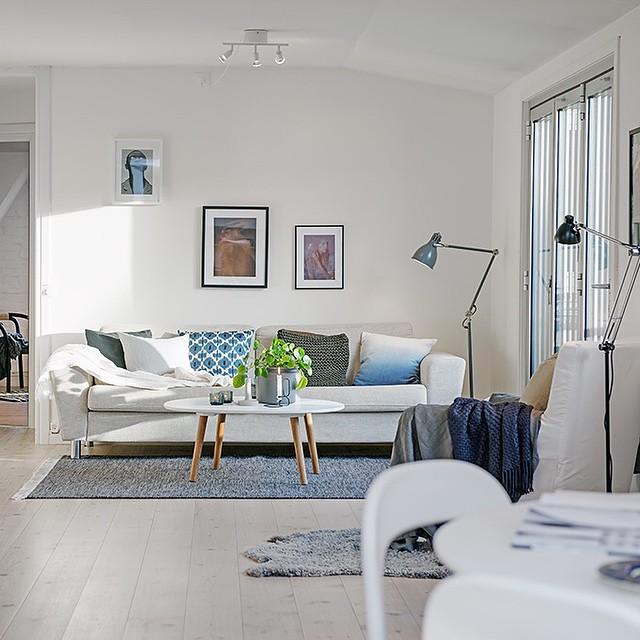 d coration de salons modernes 2015 4 d co. Black Bedroom Furniture Sets. Home Design Ideas