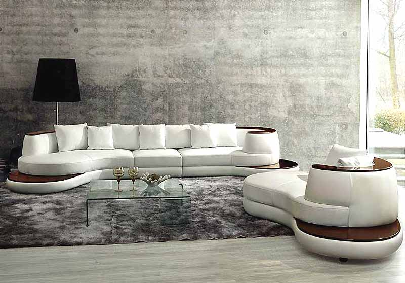 Salon moderne - Deco mur salon design ...