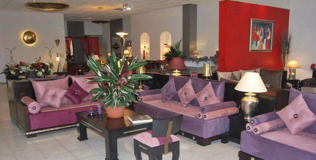 Salons Marocains le charme du mauve | Déco