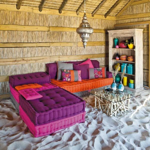 Salons marocains 2015 Décoration colorée - 1